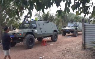 Video: Rạng sáng bên trong tâm điểm vụ xả súng ở Củ Chi