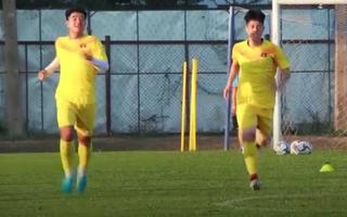 Video: U23 tập luyện ở Buriam chuẩn bị cho trận gặp UAE