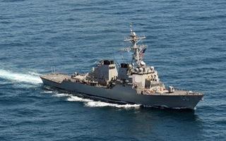 Video: Sức mạnh tàu khu trục Mỹ ở Biển Đông