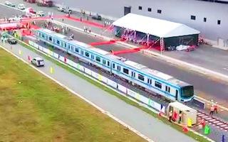 Video: TP.HCM tổ chức lễ đón nhận đoàn tàu metro số 1