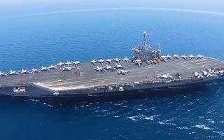 Video: Tàu sân bay USS Ronald Reagan quay lại Biển Đông lần thứ 3 trong năm