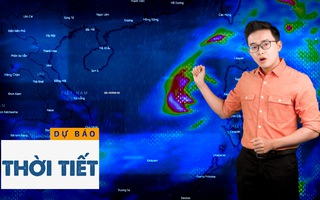 Bản tin dự báo thời tiết 21-10: Bão số 8 đang mạnh dần lên, cảnh báo mưa to, sóng lớn, sạt lở