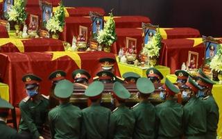 Trực tiếp: Lễ truy điệu 22 chiến sĩ Đoàn Kinh tế quốc phòng 337