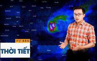 Bản tin dự báo thời tiết 23-10: Bão số 8 cách quần đảo Hoàng Sa khoảng 320km, gió giật cấp 15