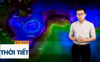 Bản tin dự báo thời tiết 24-10: Bão số 8 đi vào các tỉnh từ Hà Tĩnh đến Quảng Trị và sẽ suy yếu dần