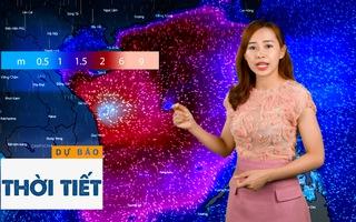 Bản tin dự báo thời tiết 28-10: Bão lớn đang ập vào miền Trung, xuất hiện mưa to, gió mạnh
