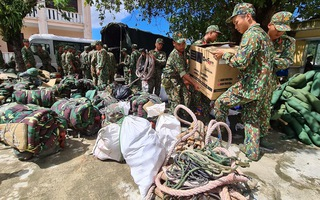Video: Lực lượng quân đội đang khẩn cấp vào Trà Leng cứu nạn