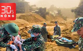 Bản tin 30s Nóng: Tang thương Trà Leng; Với tay cứu cụ ông giữa dòng lũ quét