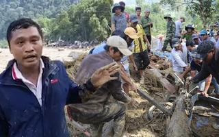 Video: Tường thuật nhanh của phóng viên Tuổi Trẻ từ hiện trường vụ sạt lở vùi lấp 45 người ở Trà Leng