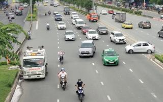 Video: Nhiều người bỡ ngỡ trong ngày đầu cấm xe qua cầu vượt Nguyễn Hữu Cảnh