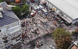 Video: Động đất rung chuyển nhiều nơi ở Thổ Nhĩ Kỳ và Hi Lạp, 22 người chết