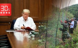 Bản tin 30s Nóng: Rào lưới ngăn voọc cắn người; Ông Trump điều hành công việc từ bệnh viện