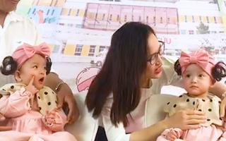 Video: Cặp song sinh Trúc Nhi - Diệu Nhi xuất viện