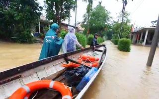 Video: 8 người chết và mất tích do mưa lũ ở Quảng Trị, Thừa Thiên Huế