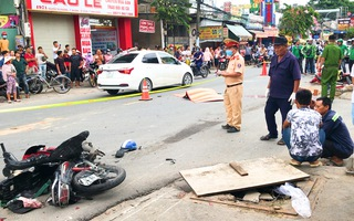 Video: Tài xế mới mua ô tô, tông 2 người tử vong, trong đó có 1 học sinh lớp 12