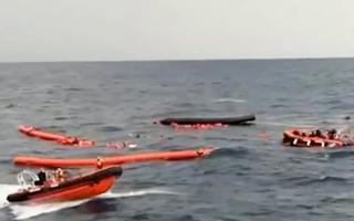 Video: Hàng trăm người di cư thiệt mạng ngoài khơi Libya