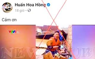 Video: Huấn 'hoa hồng' bị phạt 7,5 triệu đồng vì ghép video giả mạo Đài Truyền hình Việt Nam