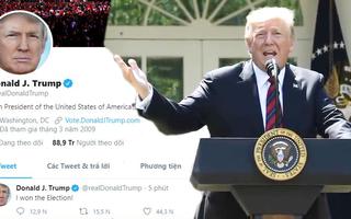 Video: Hai lần ông Trump tuyên bố 'tôi đã thắng cử' chỉ trong một ngày