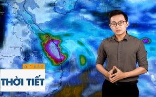 Bản tin dự báo thời tiết 3-11: Bão Goni suy yếu nhưng sẽ gây ra liên tiếp 2 đợt mưa lớn ở miền Trung