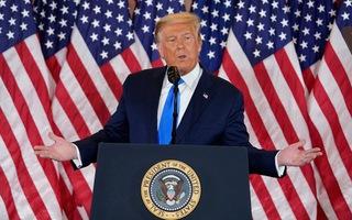Tổng thống Trump: Phát hiện hàng trăm nghìn phiếu bầu gian lận, đủ để 'lật ngược' kết quả
