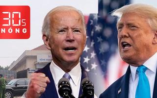 Bản tin 30s Nóng: Vì sao nước Mỹ chưa gọi tên Tổng thống nhiệm kỳ tới? Khám xét Bệnh viện Mắt TP.HCM
