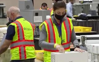 Video: Bang Nevada đã tạm dừng kiểm phiếu