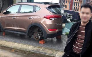 Video: Chuẩn bị đám cưới, thì bị bắt vì trộm hàng loạt bánh ôtô
