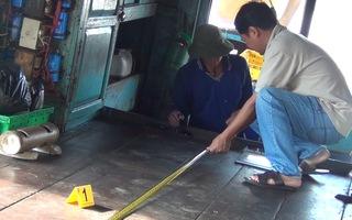 Video: Mâu thuẫn trong lúc nhậu, 1 thuyền viên bị đâm chết