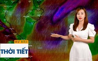Dự báo thời tiết 8-11: Xuất hiện áp thấp nhiệt đới có thể mạnh lên thành bão đang đi vào Biển Đông