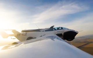 Video: Chiếc ô tô 'biến thành máy bay' chỉ trong 3 phút