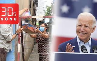 Bản tin 30s Nóng: COVID-19 nóng lên; Việt Nam gửi điện mừng tổng thống đắc cử Mỹ