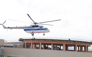 Video: Sân bay cấp cứu bằng trực thăng đầu tiên của Việt Nam đi vào hoạt động
