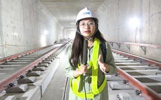 Video: Cận cảnh nhà ga ngầm Ba Son sắp hoàn thiện