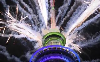 Video: New Zealand bắn pháo hoa bước sang năm mới đầu tiên trên thế giới