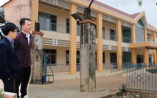Video: Sập cổng trường đè chết 1 học sinh lớp 4 ở Đắk Nông