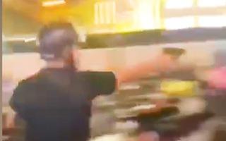 Video: Nhiều phát súng được bắn ra trong vụ ẩu đả ở siêu thị AEON Tân Phú, TP.HCM