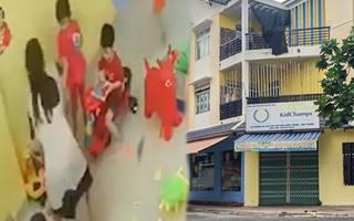 Video: Rút giấy phép cơ sở mầm non có 4 trẻ bị giáo viên đánh