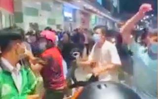 Vụ nổ súng ở siêu thị AEON: Công an đang làm việc với các bên liên quan