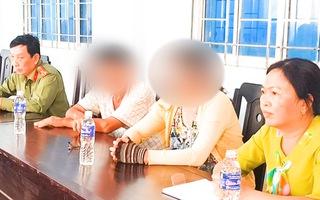 Vụ học sinh uống thuốc tự tử: Lãnh đạo Sở Giáo dục An Giang làm việc với phụ huynh cháu bé