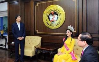 Video: Hiệu trưởng Trường ĐH Kinh tế quốc dân lên tiếng về bức ảnh hoa hậu Đỗ Thị Hà