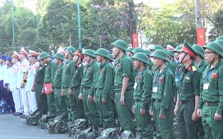 Video: Hơn 4.000 thanh niên TP.HCM chính thức lên đường nhập ngũ.