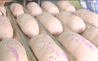 Video: Bánh mì thanh long được sản xuất như thế nào ?