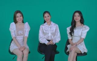 Video: Hoa hậu Trần Tiểu Vy, á hậu Phương Nga và Thúy An nói về lịch diễn mùa dịch corona