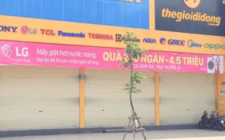 Video: Siêu thị Điện máy Xanh, nơi có nhân viên dương tính COVID-19 tạm thời bị đóng cửa