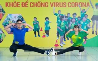 """Bài 19: 'Khỏe để chống virus Corona"""" với bài tập ép dẻo, thả lỏng"""