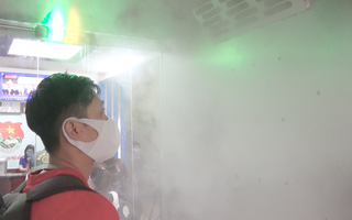 Video: Cận cảnh buồng khử khuẩn đầu tiên tại TP.HCM giá 20 triệu đồng