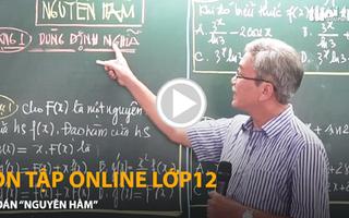 Video: Corona ở nhà học toán nguyên hàm