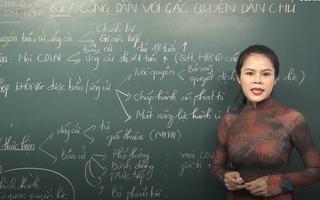 Ôn Tập Online Lớp 12 | Làm sao biết 'Công dân với các quyền dân chủ'