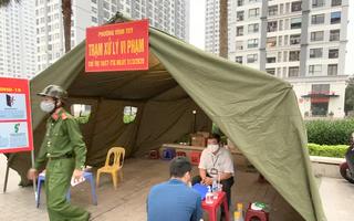 Video: Chung cư tại Hà Nội xử phạt 32 trường hợp cố tình ra ngoài không lý do chính đáng