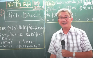 Ôn Tập Online Lớp 12 | Công thức tìm 'Nguyên Hàm' toán đại số 12